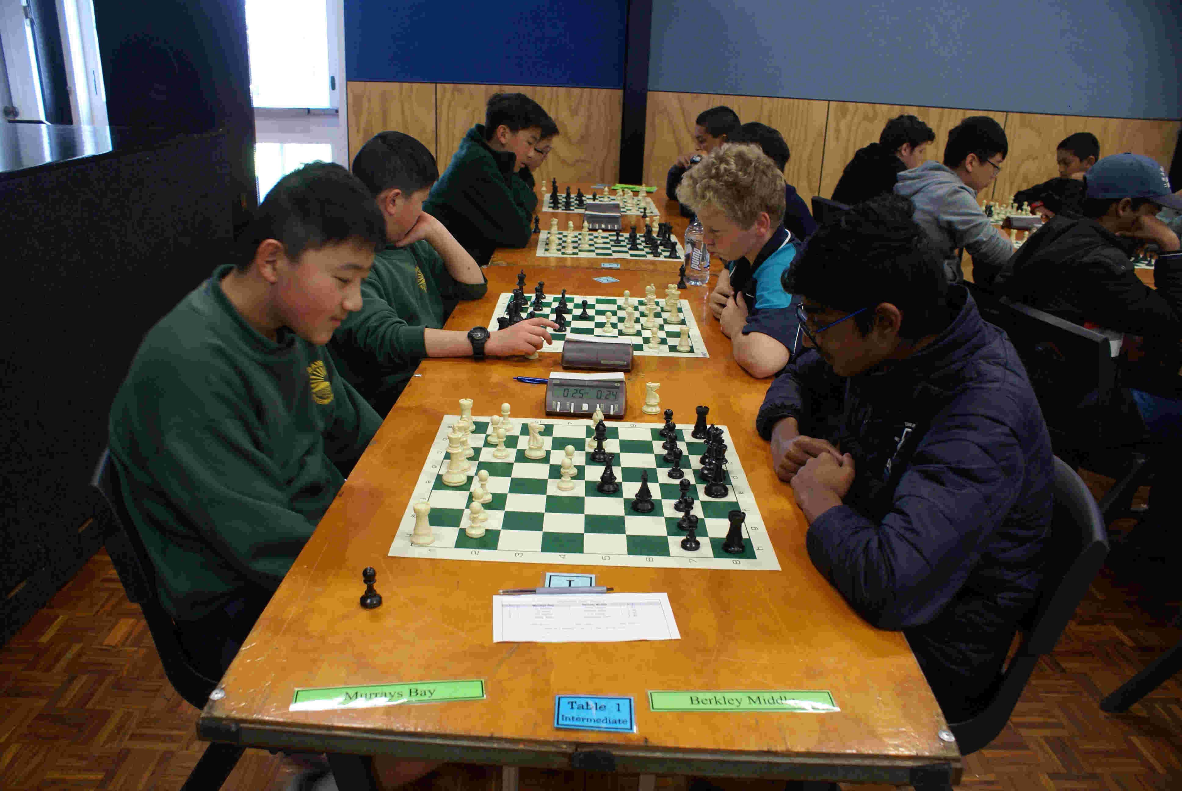 New Zealand Chess Interschools Results